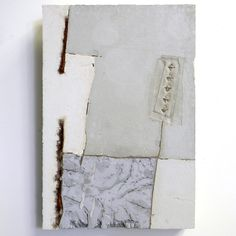 Marlies Hoevers, Textile Concrete could a gate be made of this, or would it be… Mixed Media Painting, Mixed Media Collage, Collage Art, Cement Art, Concrete Art, Cement Tiles, Concrete Sculpture, Sculpture Art, Neutral Art