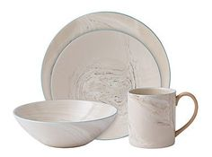 Wedgwood Nature'S Canvas Marble Coffee Mugs