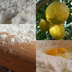 """Ravioli al profumo di limone Per la sfoglia:  200 gr Farina """"0"""" Molitoria Poggi e due uova in guscio biologiche. Per il ripieno: 600 gr ricotta di pecora biologica """"Ecofattorie"""", 100 gr Parmigiano Reggiano, scorza di un limone tagliata finemente a coltello, il succo di 1/2 limone, un uovo, un pizzico di noce moscata, un cucchiaio di prezzemolo tritato e sale qb."""