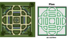 minecraft blueprints, I made this garden, it's awesome! minecraft blueprints, I made this garden, it's awesome!