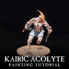 Mengel Miniatures: TUTORIAL: Kairic Acolyte