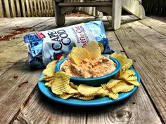 Matt's Mullet Dip. Combine the following ingredients in a food processor: 1 lb. smoked mullet (or other white fish), 1/2 cup sour cream, 1/3 mayo, hot sauce and Old Bay Seasoning to taste.