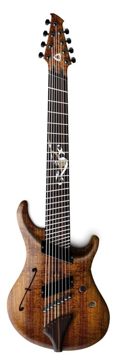 More ironing board neck, though I must admit, that's a really pretty guitar.