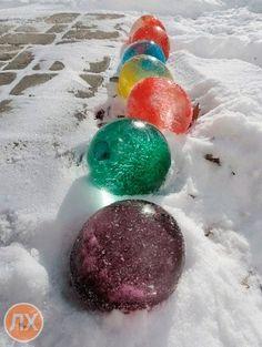 Зимнее украшение для двора
