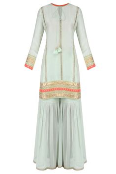 Colors & Crafts Boutique™ offers unique apparel and jewelry to women who value versatility, style and comfort. For inquiries: Call/Text/Whatsapp Pakistani Formal Dresses, Pakistani Outfits, Indian Dresses, Indian Outfits, Indian Party Wear, Indian Wear, Sharara Designs, Desi Wear, Indian Bridal Fashion