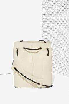 Paradigm Vegan Leather Bucket Bag - Accessories | Bags + Backpacks