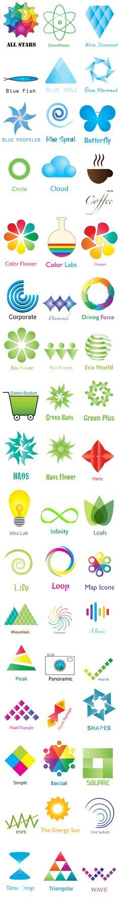 51 Customizable & Stunning Logo Templates  http://dealfuel.com/seller/51-logo-templates/  #logotemplates #templatesforwebiste #brandlogos #customizablelogotemplates #psd