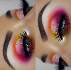 Orange and Pink Make