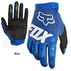 2018 Fox Racing Dirtpaw Race Gloves | Freestylecycling.com Mtb Gloves, Motocross Gloves, Fox Racing, Motorbikes, Bicycle, Motorcycle, Blue, Gloves, Bike