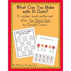 Practice writing numbers with this fun number book