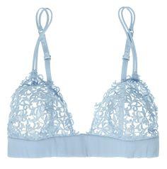 Shop La Perla's new season lingerie at NET-A-PORTER. Petite Lingerie, Lacy Lingerie, Lace Bra, Lingerie Underwear, Gorgeous Lingerie, Transparent Lingerie, Soft Cup Bra, Blue Lace, Bag Accessories