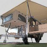 Conqueror Australia's UEV-490--most amazing compact camper trailer!