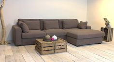 UrbanSofa Giorno. I like the minimalism of this living room, though I might add a few more things. :)