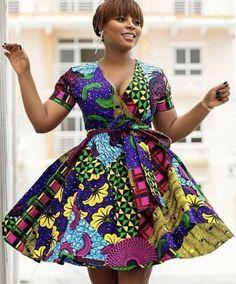 ZAHRA African fashion dress/Ankara midi dress/African prints dress/African clothing for women/ African women fashion dress by TemmyUnitedStates African Maxi Dresses, Ankara Dress, African Dresses For Women, African Attire, African Women, African Outfits, Ankara Gowns, African Wear, African Print Dress Designs