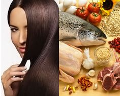 Get Healthy Hair with Diet and Nutrition