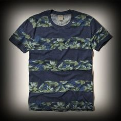 Hollister メンズ Tシャツ ホリスター Hermosa T-Shirt Tシャツ ★アバクロの姉妹ブランドとして知名度も高く芸能人も多数愛用している人気ブランドHollister!注目の今季新作海外限定アイテム! ★ボタニカル柄をお洒落に着こなしてみませんか?カジュアルな雰囲気でいろんなコーデに合わせやすいアイテムです!