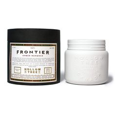 "From Hollow Tree 1871's ""1871"" collection, we introduce the ""Frontier"" coconut wax candle -- available at Labrador Supply Co."