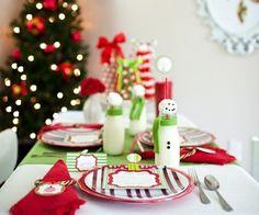 Tischdeko weihnachten selber basteln mit kindern  DIY Tischdeko Ideen für Weihnachten mit Kupfer und Tannenbäumen ...