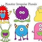 Free!  Monster themed irregular plurals Go Fish game....
