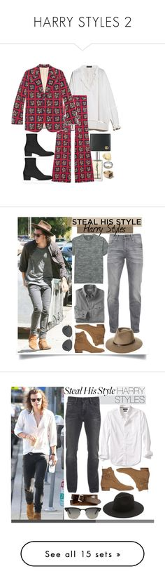 """""""HARRY STYLES 2"""" by veronice-lopez ❤ liked on Polyvore featuring Yves Saint Laurent, Gucci, Burberry, Topman, Banana Republic, men's fashion, menswear, L.L.Bean, Uniqlo and Scotch & Soda"""
