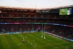 Le stade de Twickenham durant la rencontre Australie-Argentine