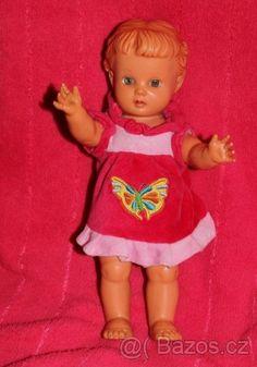 Panenka Zuzanka - 1 Retro, Dolls, Summer Dresses, History, Mini, Baby, Fashion, Toys, Gaming