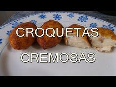 COMO HACER CROQUETAS DE POLLO CASERAS REALMENTE CREMOSAS - recetas de cocina faciles y economicas - YouTube