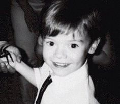 toddler Harry looks the same