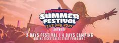 Summerfestival 2017 brengt Ibiza naar Antwerpen.