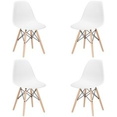 Shop for Edgemod Vortex Dining Chair with Natural Legs (Set of 4). Get free shipping at Overstock.com - Your Online Furniture Outlet Store! Get 5% in rewards with Club O! - 18645082