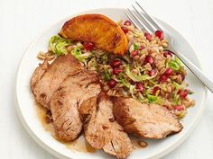 Duck Breast With Pomegranate-Citrus Glaze Recipes — Dishmaps