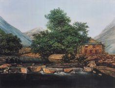 Scottish Bothy by Liz Hilton