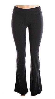 f9e74af7211d1 Mopas Cotton Spandex Yoga Pants for Fitness Gym Athletics   Lounge Black  Large  Cotton Blend Yoga Pants by Mopas Size Waist Inseam Small Medium Large