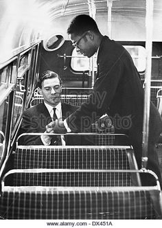 Jim Clark Takes A More Leisurely Mode Of - Stock Image
