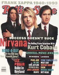 1994 Rolling Stone Covers Pictures - RS674: Nirvana | Rolling Stone