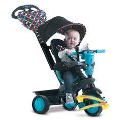 Výbornou vlastnosťou trojkolky #smarTrike je patentovaná technológia Touch Steering pre jednoduchšie a ľahšie manévrovanie, ktoré umožňuje ovládanie trojkolky ako kočík. Trojkolka je kompromisom medzi kočíkom a detskou trojkolkou, zamilujete si ho vy i vaše dieťatko. Baby Strollers, Boutique, Children, Blue, Baby Prams, Young Children, Boys, Kids, Prams