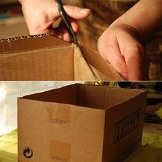 caixa organizadora artesanal - Pesquisa Google