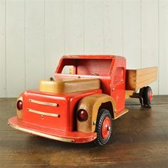 Mid 20th Century Toy Tipper Lorry - Vintage Toys - Original House