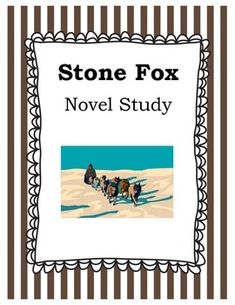 Stone Fox by John Reynolds Gardiner is a great story for students to read! This realistic fiction novel is always a favorite among my students. This novel study follows the book start to finish, with before and after reading activities. Activities included in this unit are: Author's Purpose Compare and Contrast Making Predictions Visualization Sequence Writing to Respond Research on Iditarod Race/John Reynolds Gardiner