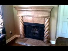 Best Free of Charge modern Stone Fireplace Concepts Most recent Absolutely Free cast Stone Fireplace Suggestions Cast Stone FirePlace Paint and Antiqu Brick Fireplace Mantles, Modern Stone Fireplace, Faux Stone Fireplaces, Cast Stone Fireplace, Living Room Decor Fireplace, Candles In Fireplace, Paint Fireplace, Brick Fireplace Makeover, Fireplace Built Ins
