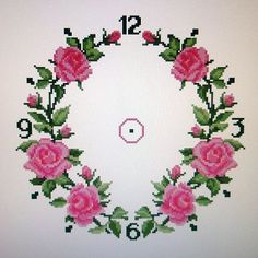 Cхеми вишивок. » Кулінарний форум Дрімфуд » Сторінка 6 Cross Stitch Rose, Cross Stitch Borders, Cross Stitch Flowers, Cross Stitching, Cross Stitch Embroidery, Hand Embroidery, Disney Cross Stitch Patterns, Cross Patterns, Flower Crafts