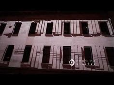 Obscura Mint Plaza Building Projection - 7 HD projectors over a 6,000 pixel plate