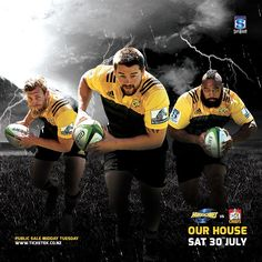 Hurricanes v Chiefs Rugby  Super Rugby SF  Saturday July 30th 7.35pm  Westpac Stadium Tickets On Sale Midday Tuesday.