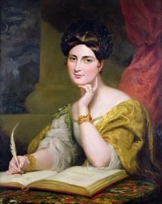 Caroline Norton (1808-77) society beauty and author;  Artist Hayter, Sir George 1832