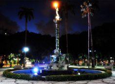 """""""Praça do Entroncamento"""". Bairo da """"Graça"""". #Recife. Estado de Pernambuco, Brasil."""