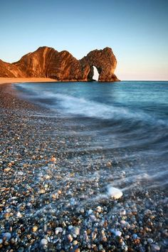 Durdle Door, Anglija.
