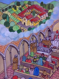 Antonio accetta di rimanere nell'eremo di Montepaolo in solitudine e preghiera e, nella testimonianza oratoria, scopre una nuova dimensione di vita.