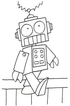 robot color sheet
