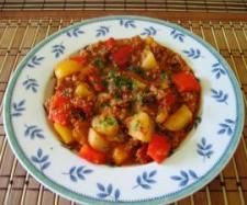 Rezept Paprika-Hack-Kartoffeln von Dani_Martin - Rezept der Kategorie Hauptgerichte mit Fleisch