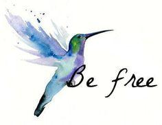 be free..